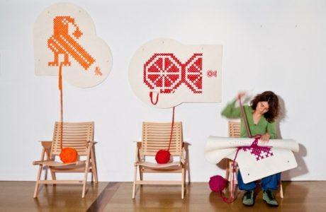 Z kufra do domu…czyli haftujemy dom