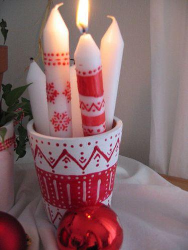 Wieniec adwentowy [Boże Narodzenie w skandynawskim stylu]