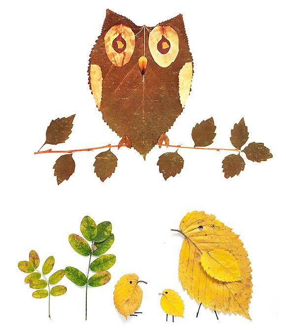 dom z duszą blog o wnętrzach jesienne zabawy liście kasztany plastyczne (3)