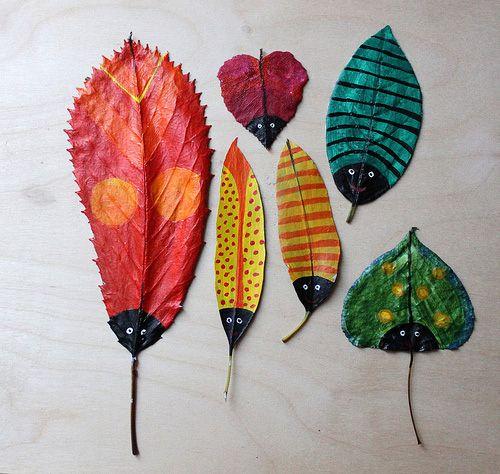 dom z duszą blog o wnętrzach jesienne zabawy liście kasztany plastyczne (5)