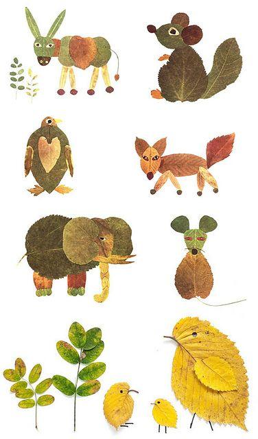 dom z duszą blog o wnętrzach jesienne zabawy liście kasztany plastyczne (7)