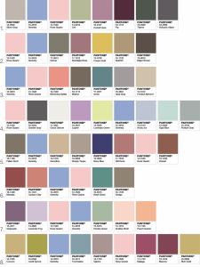 paleta 2016 pantone