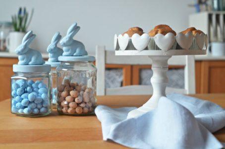 DIY wiosenne słoiki z zajączkami