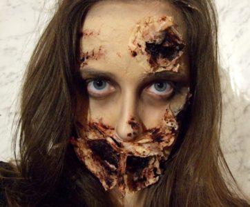 DIY – sztuczne rany na twarzy – Halloween impreza tematyczna