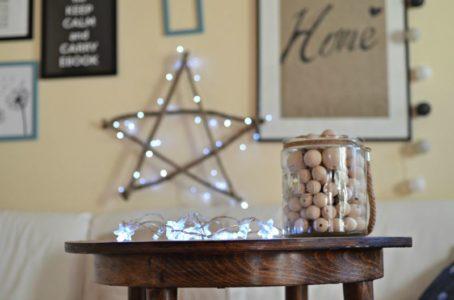 Świecąca gwiazda na Boże Narodzenie DIY