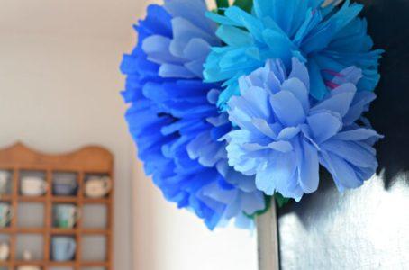Jak Zrobić Pompony Kwiaty Z Bibuły