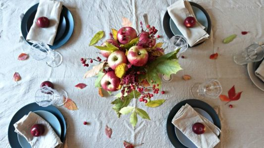 Nakrywamy stół jesienią – zrób to sam