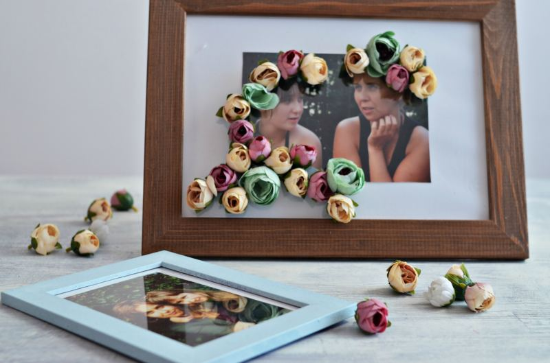 Ozdobna ramka laurka – pomysł na prezent DIY