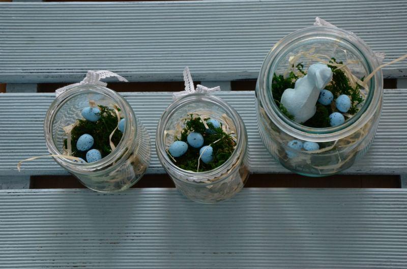 Wiosenne dekoracje ze słoika na 8 sposobów
