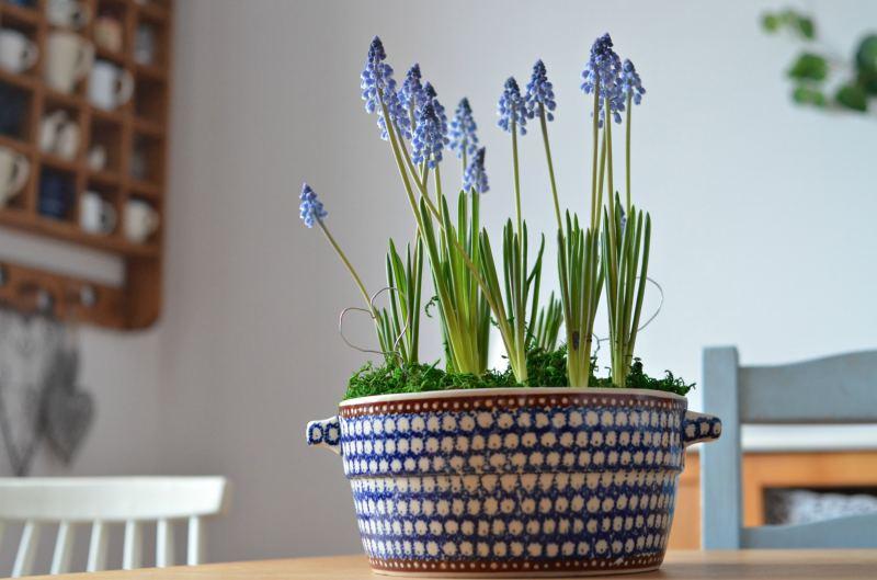 Recykling pękniętej wazy – stroik DIY