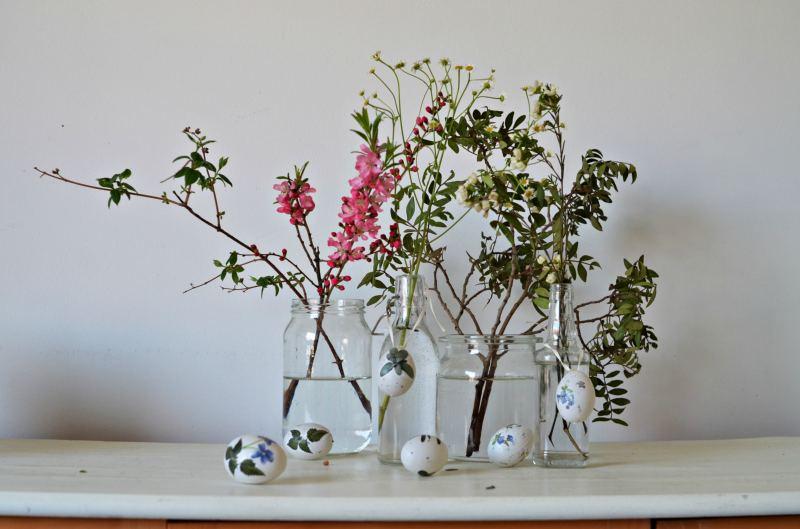 Wielkanoc z motywem botanicznym