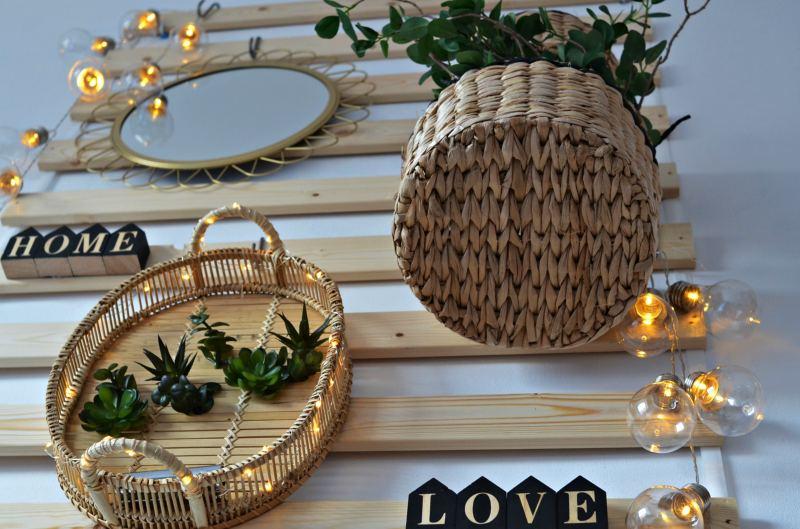 proste dekoracje na balkon i na każdą ścianę