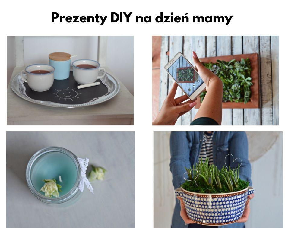 Ręcznie robione prezenty na Dzień Mamy