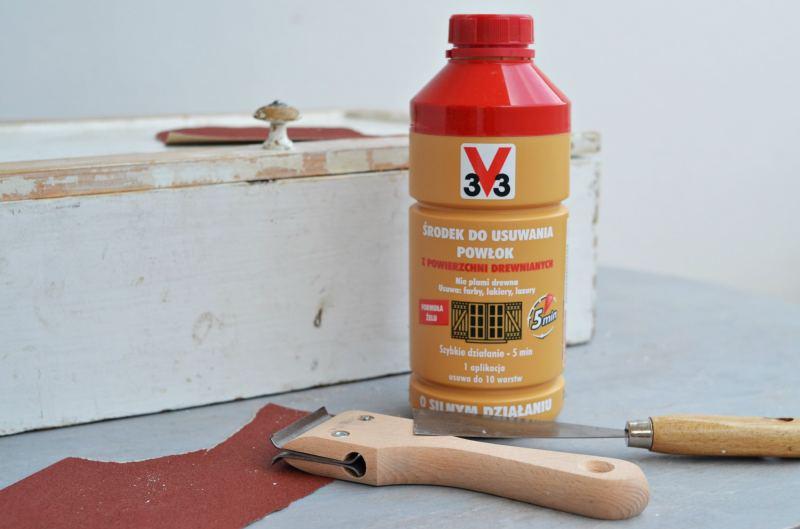 Samodzielne malowanie mebli - jak przygotować mebel? żel V33