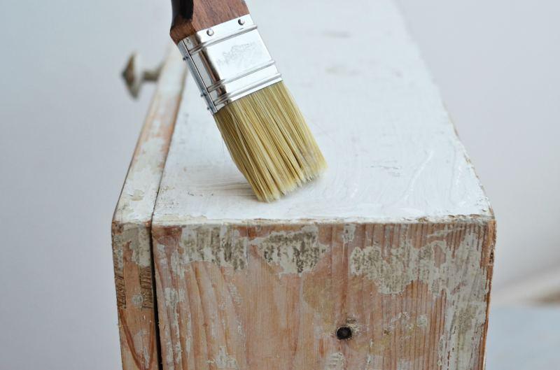 usuwanie starej farby z drewna - instrukcja video - żel V33