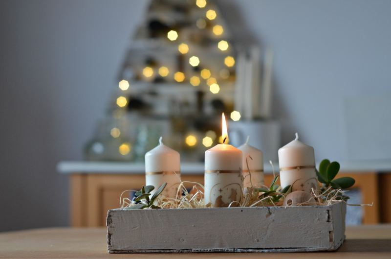 stroik adwentowy Boże Narodzenie