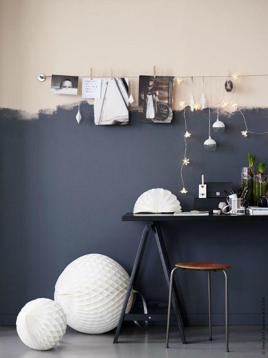 kreatywne malowanie lamperii
