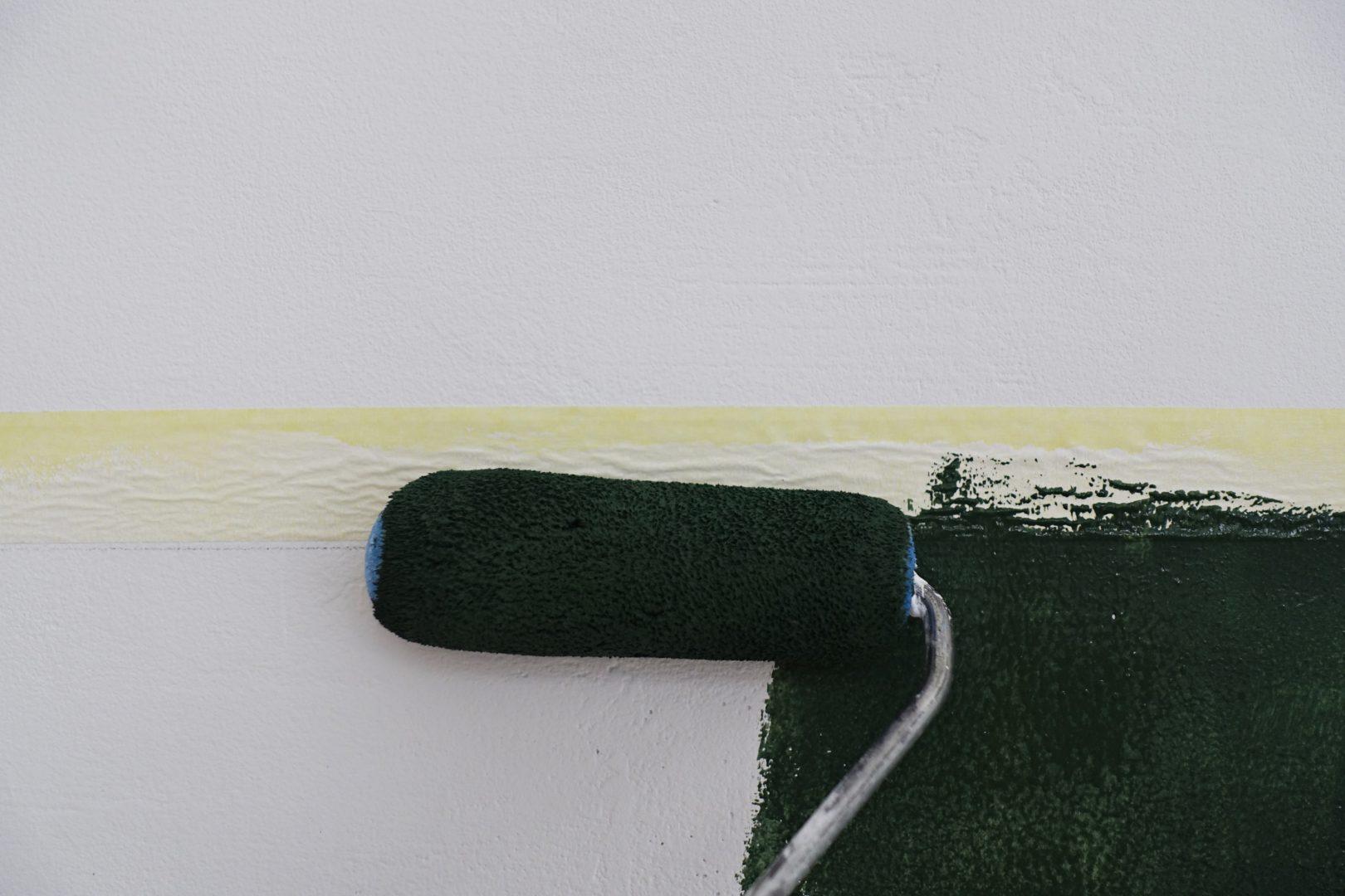 jak malować odciecia i lamperie